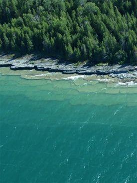 Fossil Ledges - Drummond Island, Michigan